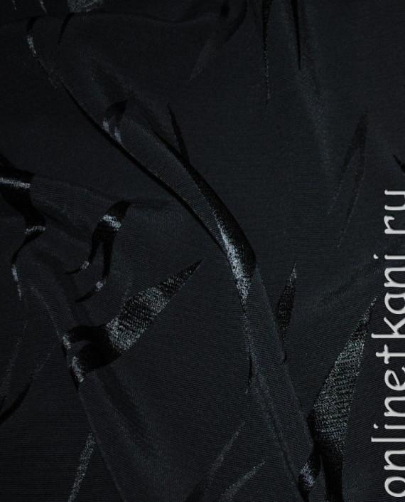 Ткань вискоза 0009 цвет серый абстрактный картинка 4