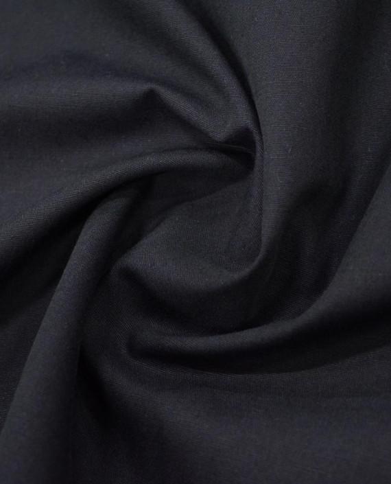 Лен рубашечный 0884 цвет черный картинка