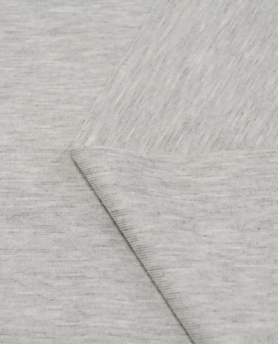 Джерси 3118 цвет серый меланж картинка 2